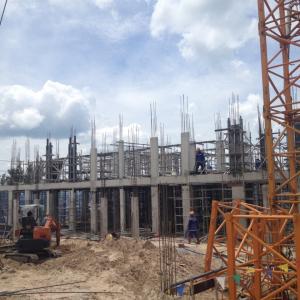 Cập nhật tiến độ xây dựng ngày 08/07/2017