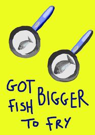 THÀNH NGỮ 7: Bigger fish to fry